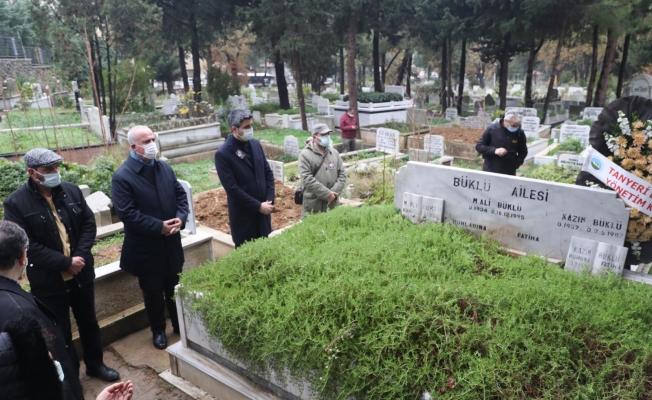 Mehmet Ali Büklü Vefatının 25. Yılında Mezarı Başında Anıldı