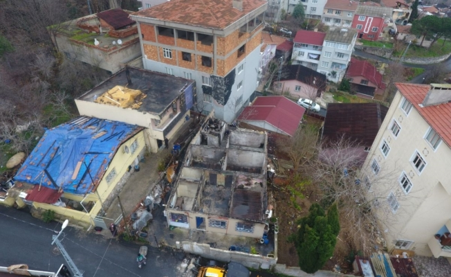 Sarıyer'de Evleri Yanan Vatandaşlara Yardım Eli