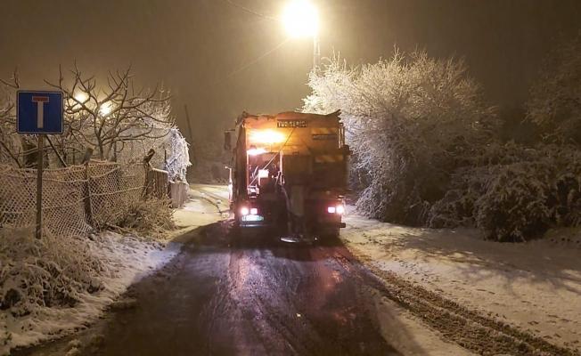 Kartal Belediyesi Kar Mesaisine Başladı