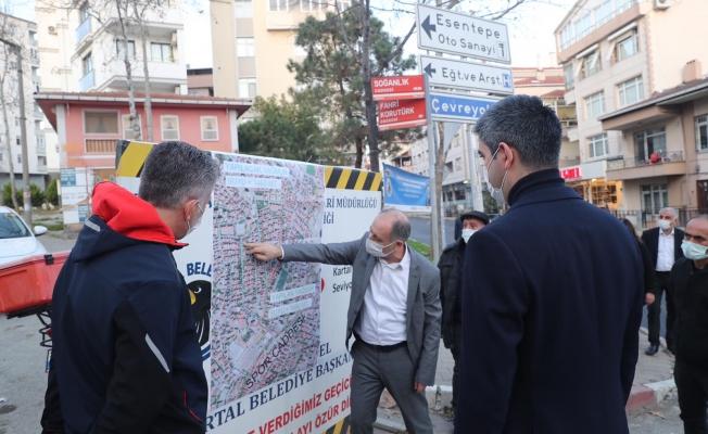 Üstyapı Çalışmaları İle Kartal'ın Çehresi Yenileniyor