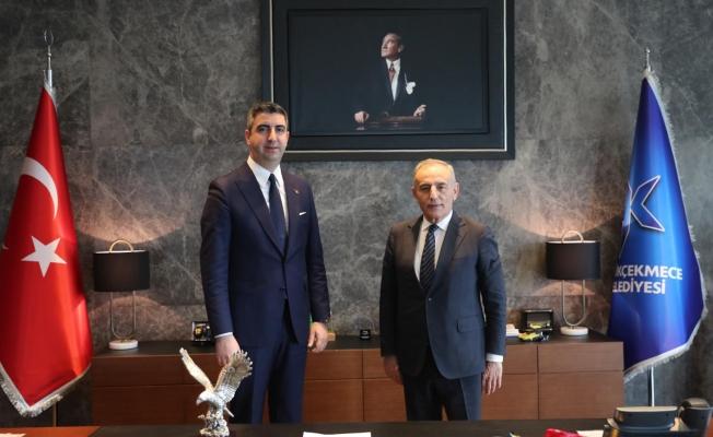 Başkan Gökhan Yüksel'den Küçükçekmece Belediye Başkanı Kemal Çebi'ye Ziyaret