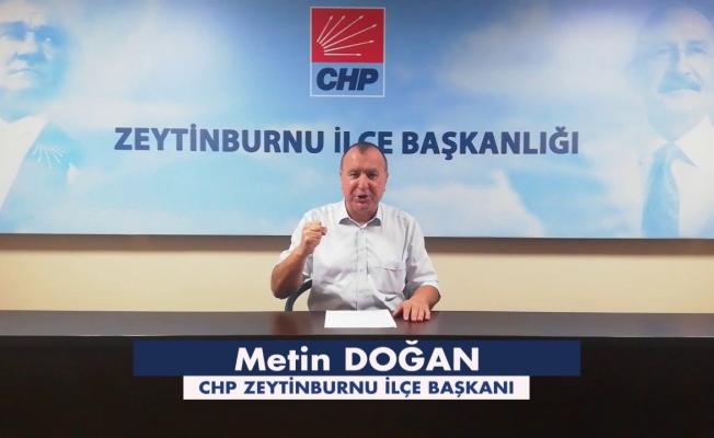 """CHP'Lİ Metin Doğan'dan """"AKP""""Li Ömer Arısoy'a Cevap Var"""