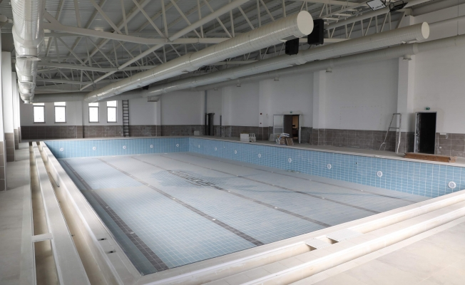 Eyüpsultan Akşemsettin Yüzme Havuzu İnşaatında Sona Yaklaşıldı