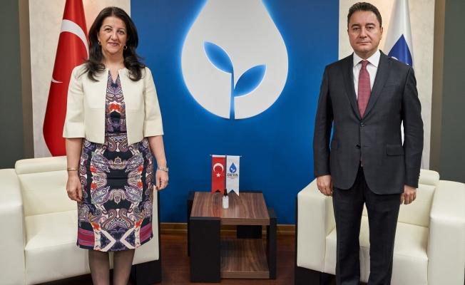 'HDP'den DEVA'ya Ziyaret'