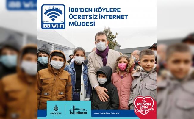 İBB'den Köylere Ücretsiz İnternet Hizmeti