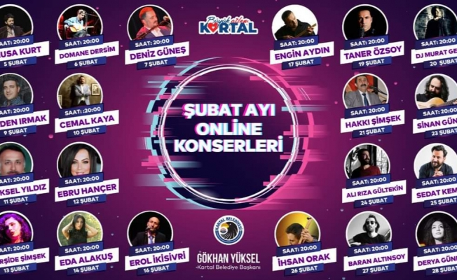 Kartal Belediyesi'nden Müzik Sektörüne Destek Konserleri