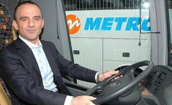 Metro Turizm'in Yönetim Kurulu Başkanı Galip Öztürk Açıklama Yaptı