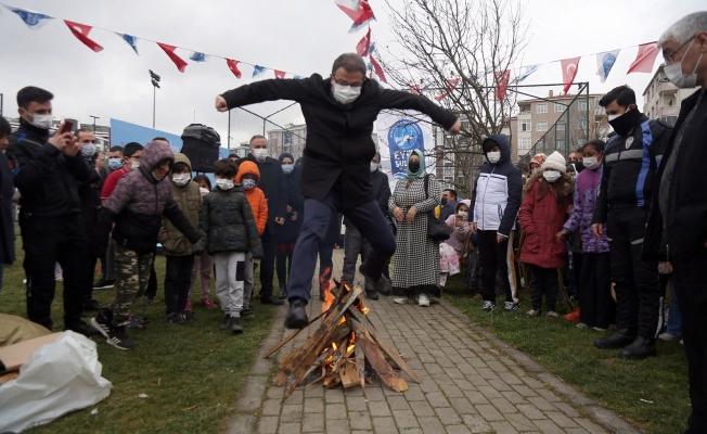 Baharın Müjdecisi Nevruz Eyüpsultan'da Coşkuyla Kutlandı