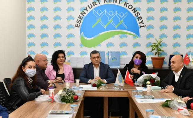 Başkan Bozkurt'tan Kent Konseyi Kadın Mesclisi'ne 8 Mart Ziyareti