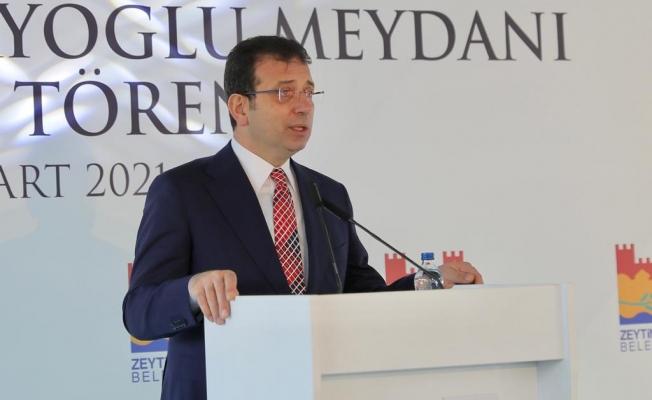 Kazak Edebiyatı'nın Temel Taşı Abay'ın Adı Zeytinburnu'nda Meydana Verildi
