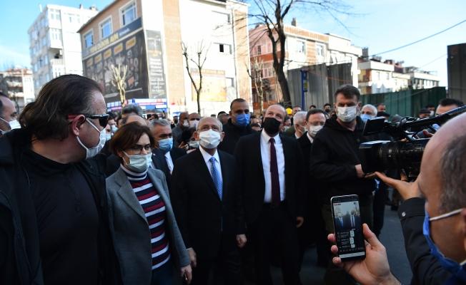 Kılıçdaroğlu, Avcılar'da Kentsel Dönüşüm İncelemelerinde Bulundu