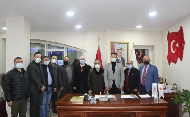 Malatyalılardan Ak Parti'ye Hayırlı Olsun Ziyareti