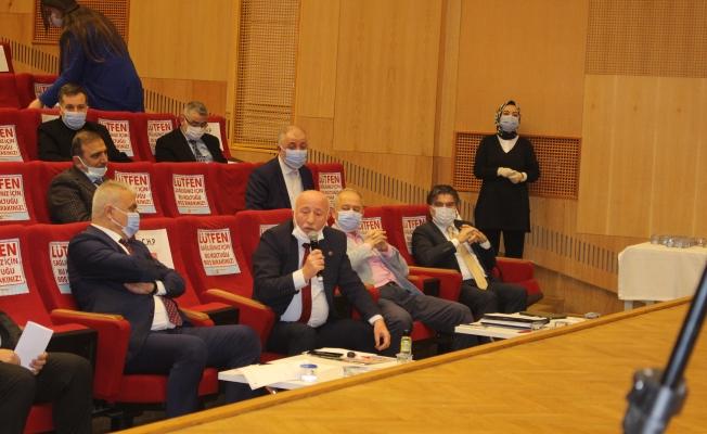 Zeytinburnu Belediye Meclis Toplantısının İlk Birleşimi Yapıldı