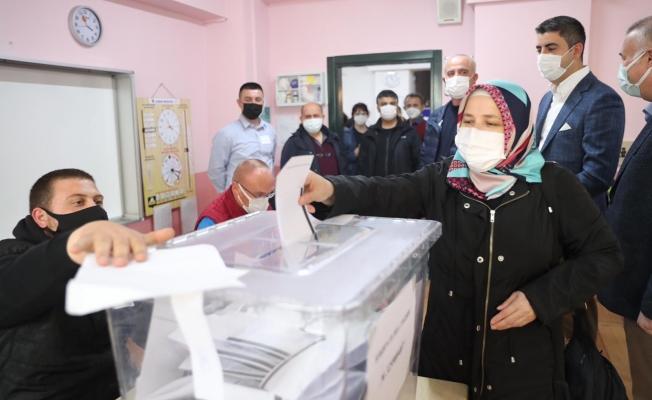 Başkan Yüksel'den Bulgaristan Parlamento Seçimleri İçin Oy Kullanacak Vatandaşlara Ziyaret