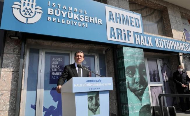 İmamoğlu'ndan Ahmet Arif Şiiriyle Dayanışma Mesajı:
