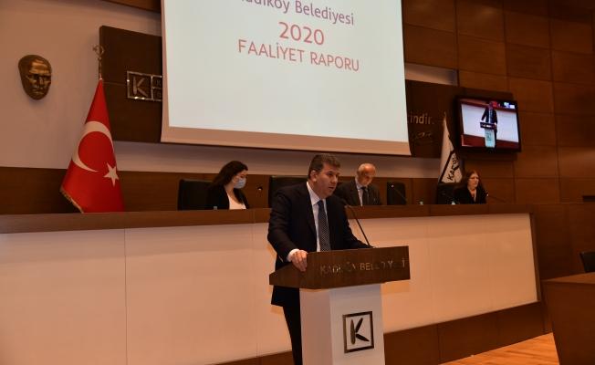 Kadıköy'ün 2020 Faaliyet Raporu Kabul Edildi