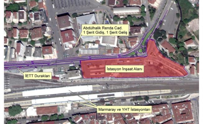 Pendik - Kaynarca Metrosu İçin Trafik Akışı Yeniden Düzenlendi