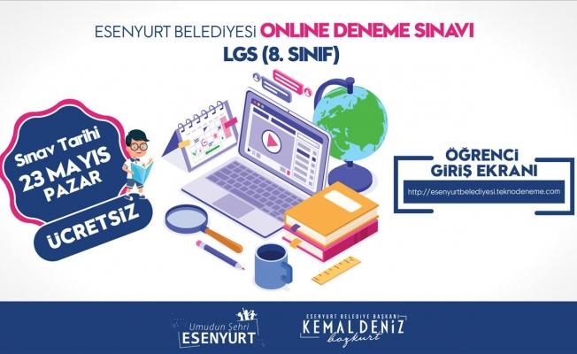 Esenyurt Belediyesi, Online Deneme Sınavı Düzenliyor