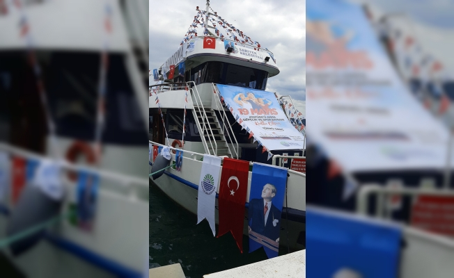 Sarıyer'de 19 Mayıs Coşkusu Denize Taşınacak