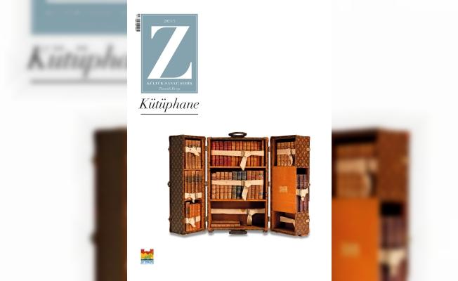 """Z Dergisinin """"Kütüphane"""" Temalı 5'inci Sayısı Çıktı"""