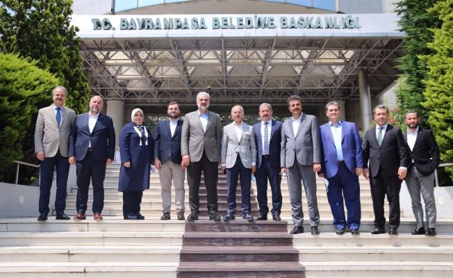 AK Parti İstanbul İl Başkanı Kabaktepe'den Başkan Aydıner'e Ziyaret