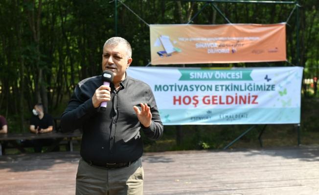 Başkan Bozkurt, Öğrencilerle Sınav Öncesi Motivasyon Etkinlğinde Buluştu
