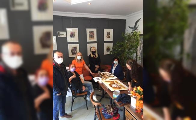 Sanatseverler ''Kahve ile Suluboya Şenliği''nde ikinci kez buluştu !