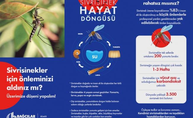 Sivrisineklerden 3K yöntemi ile kurtulun