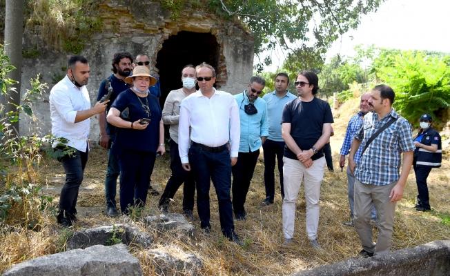 """Hançerli """"Bathonea Antik Kenti On Binlerce Kişiye İstihdam Sağlayacak"""""""