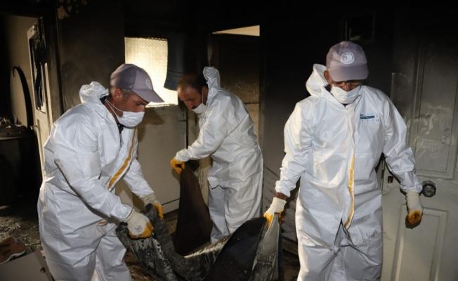 Kartal Belediyesi'nden Yangın Mağduru Aileye Yardım Eli