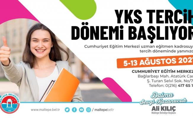 Maltepe Belediyesi'nden üniversite adaylarına ücretsiz rehberlik hizmeti