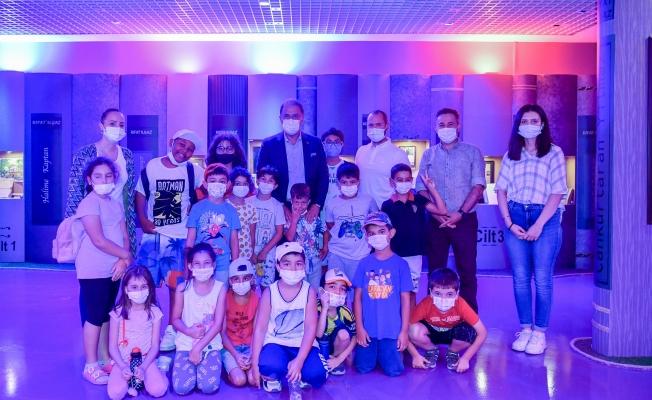 Rıfat Ilgaz Eğitim Tarihi Müzesi Minik Ziyaretçilerini Ağırladı