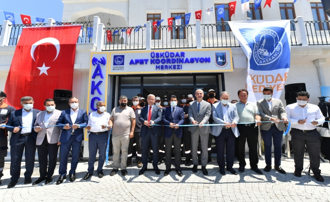 Üsküdar'da Afet Koordinasyon Merkezi Açıldı