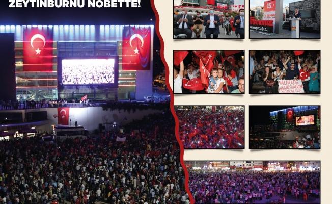 Zeytinburnu '15 Temmuz'u 'Destanın Uyanışı' Sergisi İle Karşılıyor