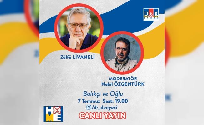 Zülfü Livaneli yeni kitabını Nebil Özgentürk ile  D&R canlı yayınında konuşuyor