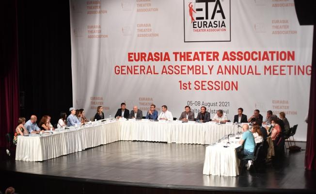 Avrasya Tiyatrolar Birliği Genel Kurulu Maltepe'de başladı