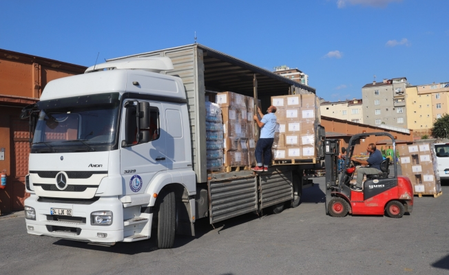 Bağcılar Belediyesi, afet bölgesine yardım eli uzattı