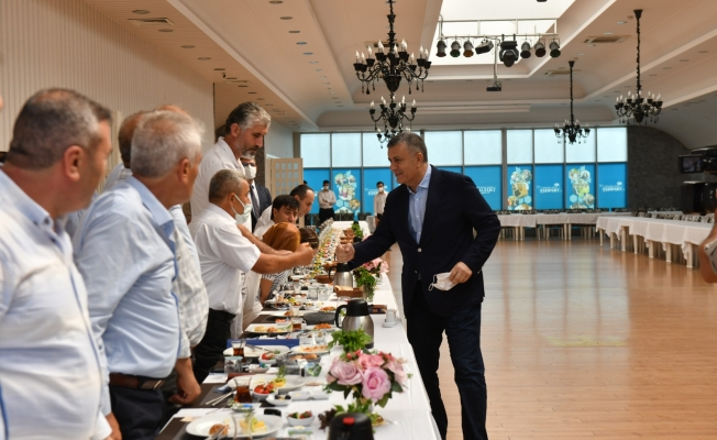 Başkan Bozkurt, Muhtarlar İle Görüştü