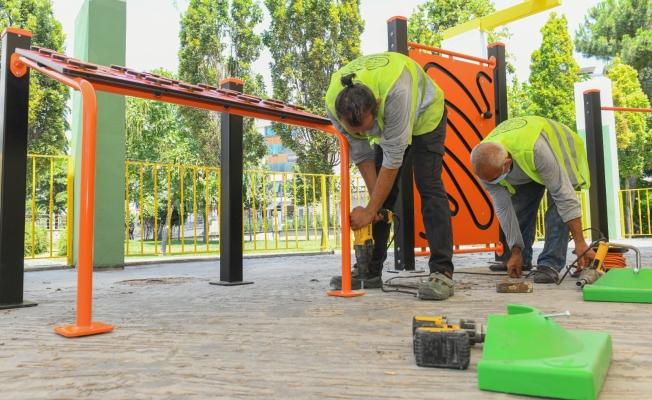 Esenyurt Belediyesi'nen RTE Parkına Yeni Spor Alanı
