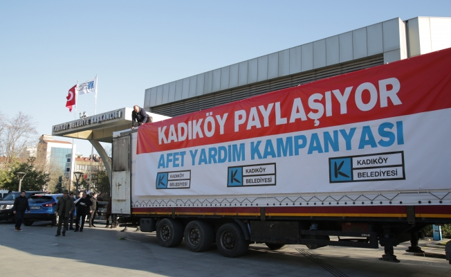 Kadıköy'den Afet Yardım Kampanyası
