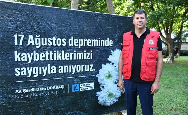 Kadıköy Marmara Depremi'ni 24 Saat Süren Bir Programla Andı