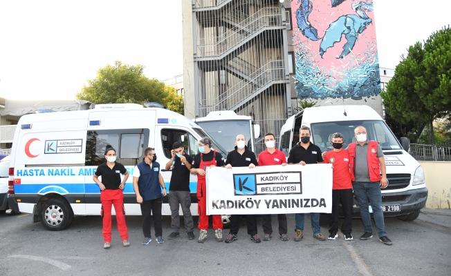 Kadıköy Yangınlara Üçüncü Ekibi Yolluyor