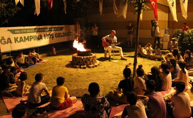 Maltepeli Çocukların Gece Kampı Deneyimi