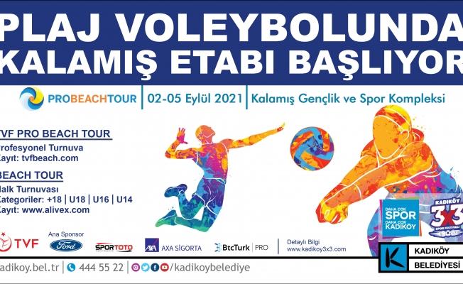 Plaj Voleybolu Turnuvasında Kadıköy Etabı Başlıyor