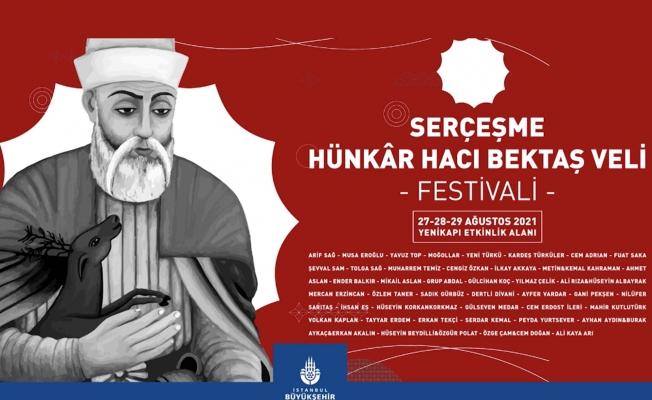 """""""Serçeşme Hünkâr Hacı Bektaş- ı Veli Festivali '' Bu Cuma Başlıyor"""