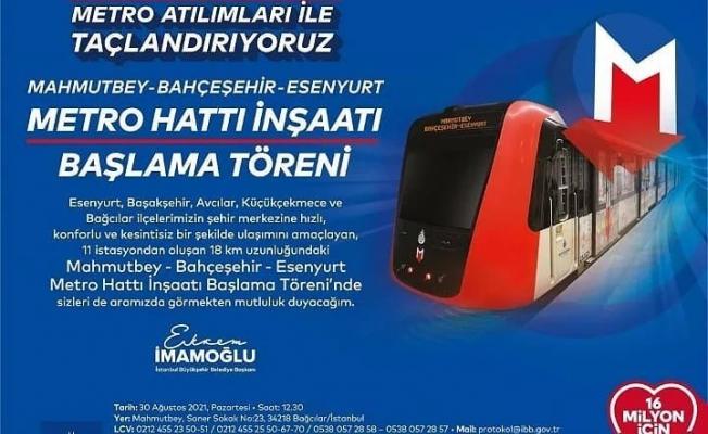 Zafer Bayramı'nı Yeni Bir Metro Projesiyle Taçlandırıyoruz