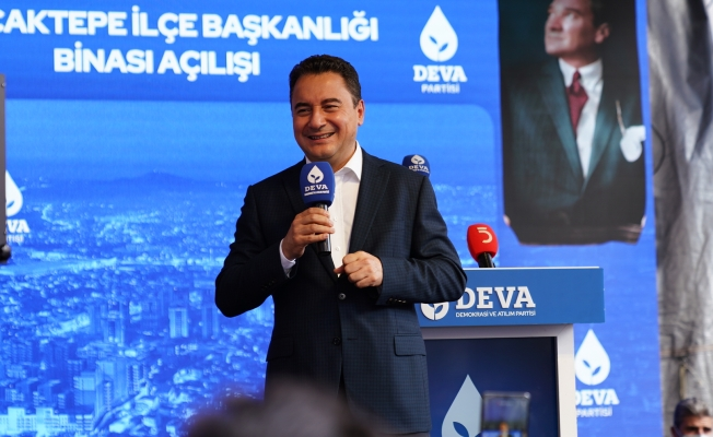 ALİ BABACAN:  'Bizim hayalimizde tam demokratik bir Türkiye var'