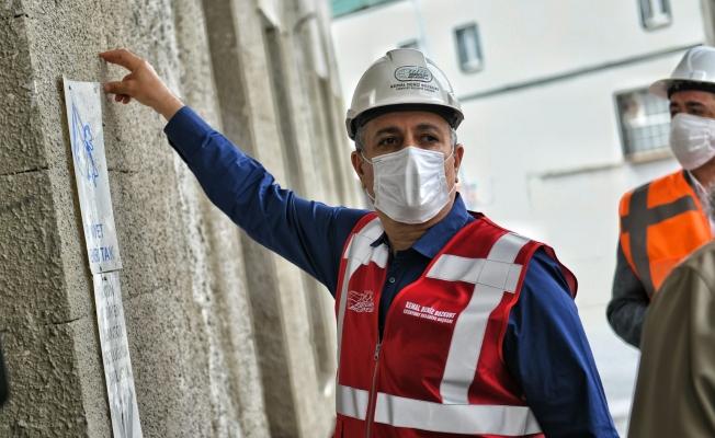 Başkan Bozkurt, Yapımı Devam Eden Camii İnşaatını İnceledi