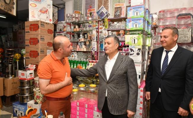 Başkan Bozkur'tan Van'daki Selzedelere Dayanışma Ziyareti