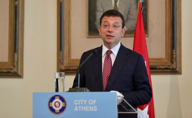 İmamoğlu Atina'dan Seslendi: İyi Niyet ve Ortak Akılla Çözülemeyecek Sorun Yok